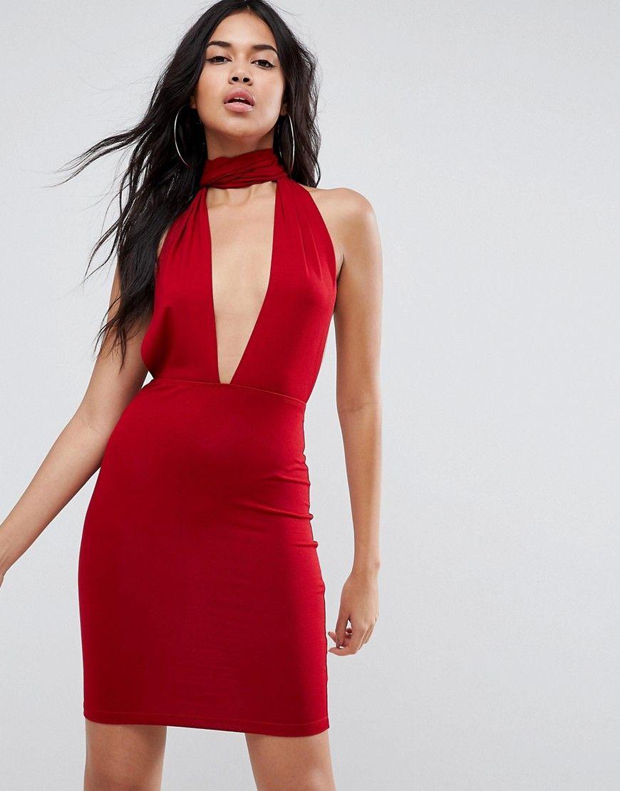 Как сшить платье с глубоким вырезом 193