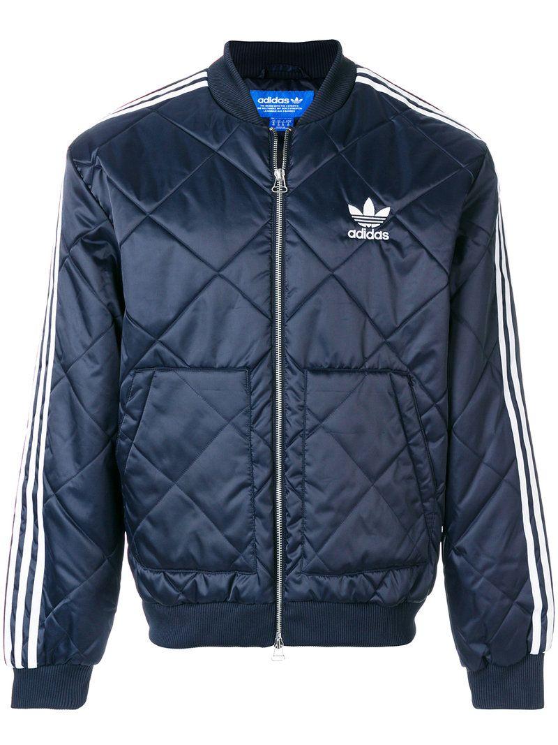 Adidas originals jacket blue