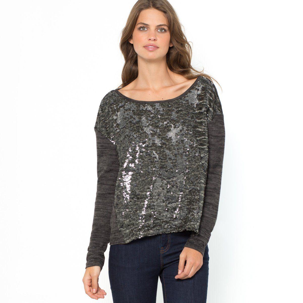 Пуловер С Паетками Доставка