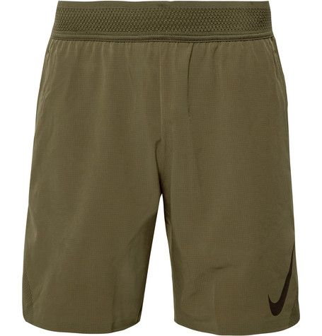 Мужское Зелёный Flex Repel 3.0 Ripstop Shorts Nike Training