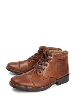 Ботинки Rieker                                                                                                              коричневый цвет