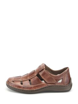 Сандалии Rieker                                                                                                              коричневый цвет
