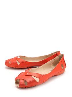 Балетки Riveri                                                                                                              красный цвет