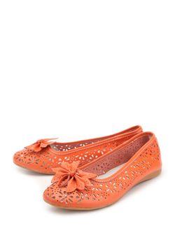 Балетки Avery                                                                                                              оранжевый цвет