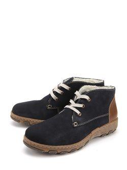 Ботинки Rieker                                                                                                              синий цвет