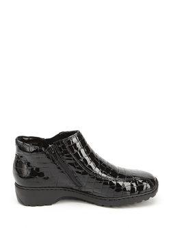 Ботинки Rieker                                                                                                              черный цвет