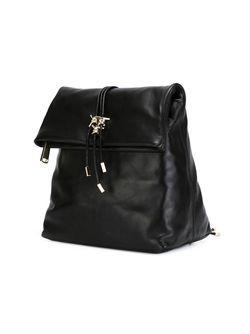 Рюкзак С Золотистыми Деталями Dsquared2                                                                                                              чёрный цвет