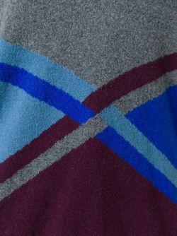 Свитер C V-Образным Вырезом Erika Cavallini                                                                                                              серый цвет