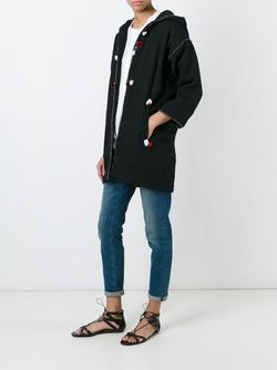 Boreal Coat Isabel Marant Étoile                                                                                                              чёрный цвет
