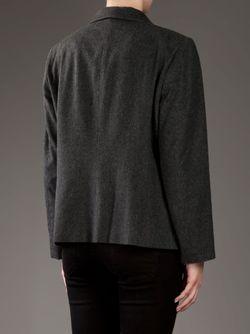 Укороченный Прямой Пиджак PIERRE CARDIN VINTAGE                                                                                                              серый цвет