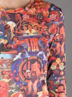 Кофта С Цифровым Принтом JEAN PAUL GAULTIER VINTAGE                                                                                                              многоцветный цвет