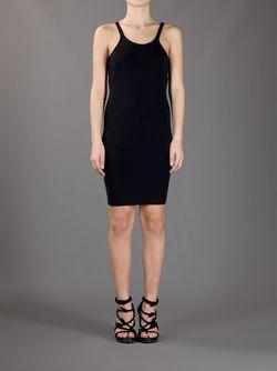 Облегающее Платье-Майка T By Alexander Wang                                                                                                              черный цвет