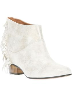 Sun Fringe Ankle Boot Golden Goose                                                                                                              серебристый цвет