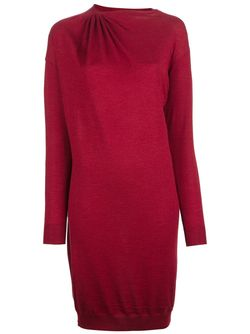 Gathered Sweater Dress Lanvin                                                                                                              красный цвет
