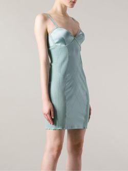 Платье Неглиже JEAN PAUL GAULTIER VINTAGE                                                                                                              зелёный цвет