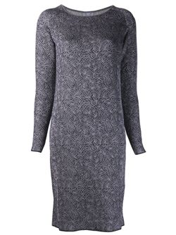Print Dress Thierry Colson                                                                                                              серый цвет