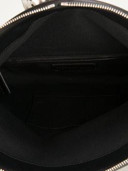 Studded Skull Padlock Clutch Alexander McQueen                                                                                                              чёрный цвет