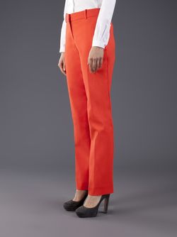 Banded Waist Trousers Cedric Charlier                                                                                                              желтый цвет