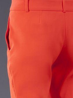 Banded Waist Trousers Cedric Charlier                                                                                                              желтый цвет