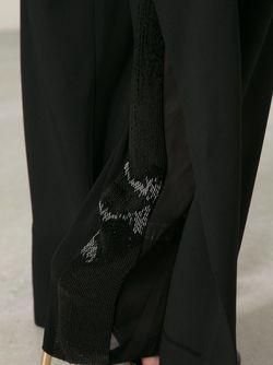 Расклешённые Брюки Maison Margiela                                                                                                              чёрный цвет