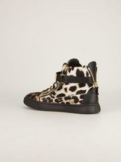 Кроссовки-Хайтопы Giuseppe Zanotti Design                                                                                                              черный цвет