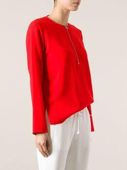 Свободный Топ Stella Mccartney                                                                                                              красный цвет