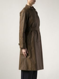 Плащ Fran Из Хлопковой Смеси The Row                                                                                                              коричневый цвет