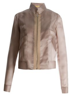 Fitted Jacket EMANNUELLE JUNQUEIRA                                                                                                              Nude & Neutrals цвет