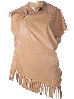 Кофта С Отделкой Под Замшу JUNYA WATANABE COMME DES GARCONS                                                                                                              Nude & Neutrals цвет