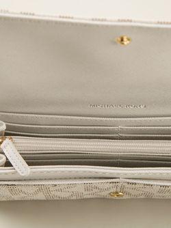Кошелёк С Монограммой Michael Michael Kors                                                                                                              белый цвет