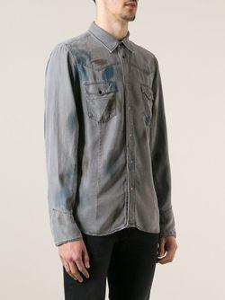 Рубашка Sawest Diesel Black Gold                                                                                                              серый цвет