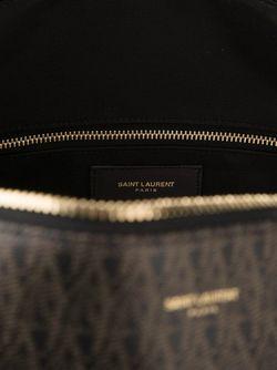 Сумка С Узором Saint Laurent                                                                                                              черный цвет