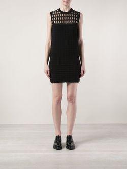 Хлопковое Платье Прямого Кроя PIECE D ANARCHIVE                                                                                                              черный цвет