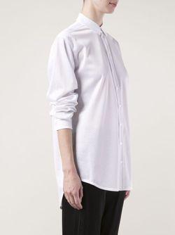 Рубашка Свободного Кроя PIECE D ANARCHIVE                                                                                                              белый цвет