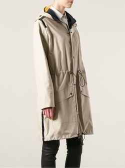 Пальто-Парка С Капюшоном Wanda Nylon                                                                                                              Nude & Neutrals цвет