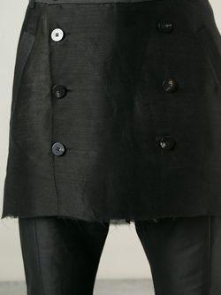 Брюки С Короткой Юбкой Thamanyah                                                                                                              черный цвет