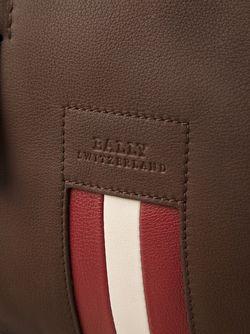 Спортивная Сумка С Контрастными Полосками Bally                                                                                                              коричневый цвет