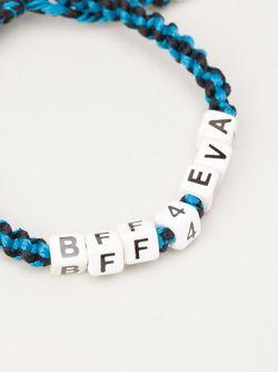 Браслет Bff4eva Venessa Arizaga                                                                                                              синий цвет