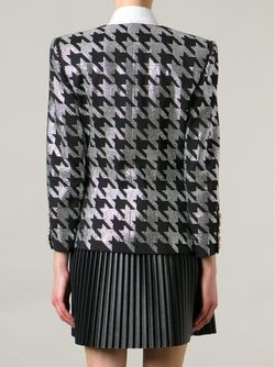 Куртка С Украшением Balmain                                                                                                              чёрный цвет