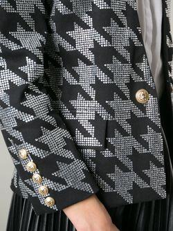 Куртка С Украшением Balmain                                                                                                              черный цвет