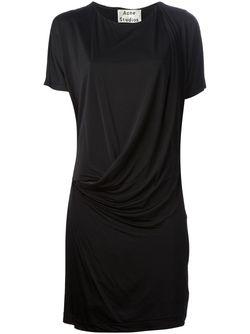 Платье Hello Acne Studios                                                                                                              черный цвет