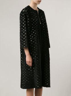 Пальто Sherfan The Row                                                                                                              чёрный цвет