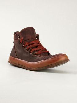 Потёртые Ботинки A DICIANNOVEVENTITRE                                                                                                              красный цвет