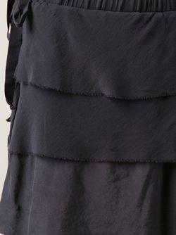 Юбка С Ярусами Kristensen Du Nord                                                                                                              серый цвет