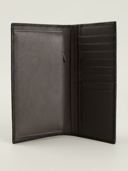 Удлинённый Бумажник С Монограммой Salvatore Ferragamo                                                                                                              чёрный цвет