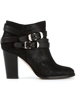 Ботинки По Щиколотку Jimmy Choo                                                                                                              черный цвет