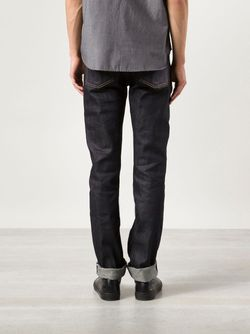 Narrow Slim Jeans UNITED STOCK DRY GOODS                                                                                                              синий цвет