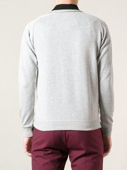 Классическая Толстовка Saint Laurent                                                                                                              серый цвет