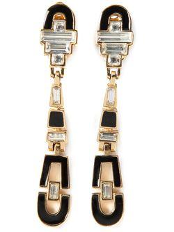 Серёжки-Клипсы Givenchy                                                                                                              серебристый цвет
