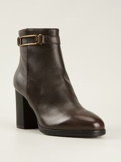 Ботинки На Молнии Tod'S                                                                                                              коричневый цвет